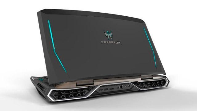 acer predator 21x novo notebook gamer com tela curva. Black Bedroom Furniture Sets. Home Design Ideas
